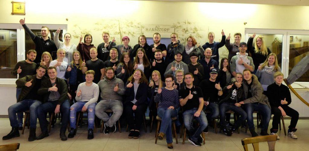hier siehst du das Gruppenfoto vom Jugendzug
